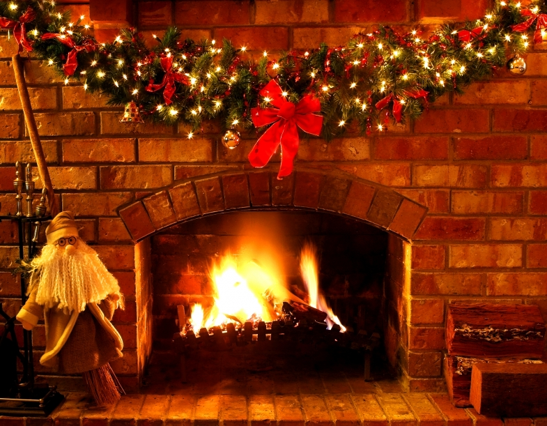 Christmas Fireplace Scene Clipart.Archivoclinico Christmas Fireplace Scene Gif Images