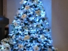 christmas blue tree