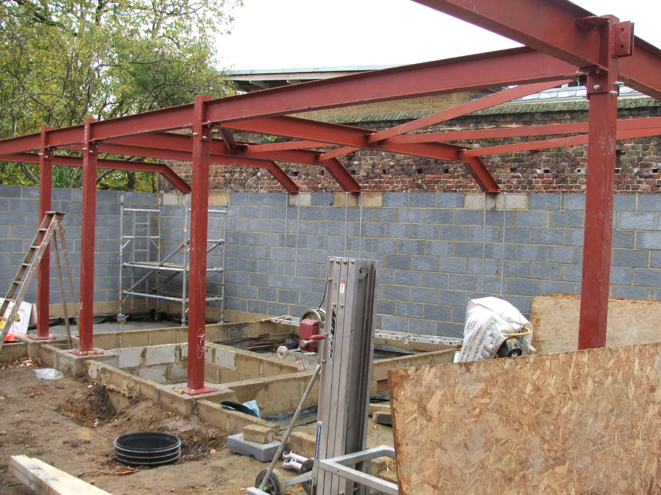 House Extension for Swimming Pool