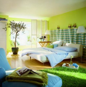 Green-Color-Interior-for-Modern-Home-Decor