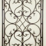 Iron Wall Design Plate