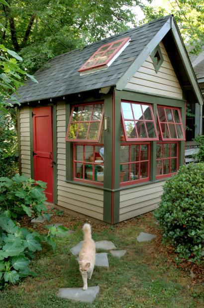 Pictures Of Backyard Garden Sheds : Can A Garden Shed Be A Design Classic?  Gardens & Landscaping, Core