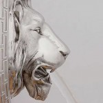 silver-lion-water-fountain