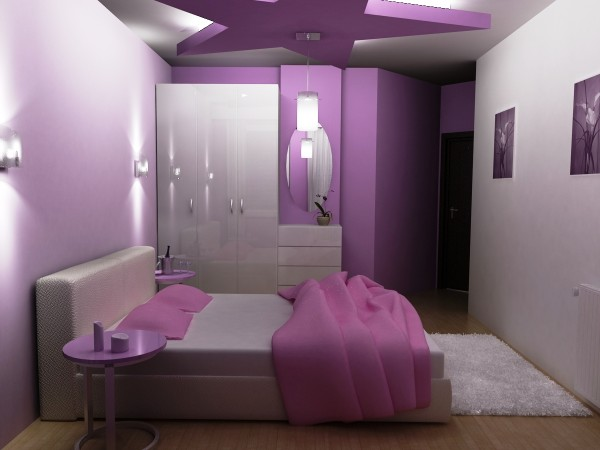 Deep Pink Bedroom