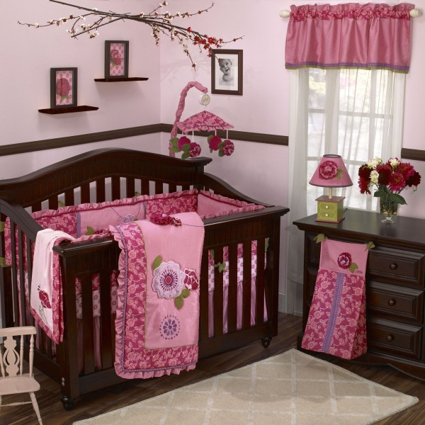 Orchid Bedroom for a Baby