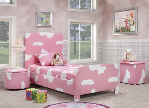 Pink Bedroom for a Little Girl