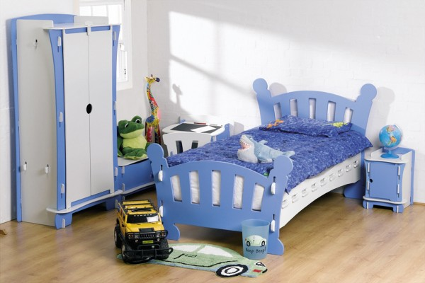 Blue Kid's Bedroom