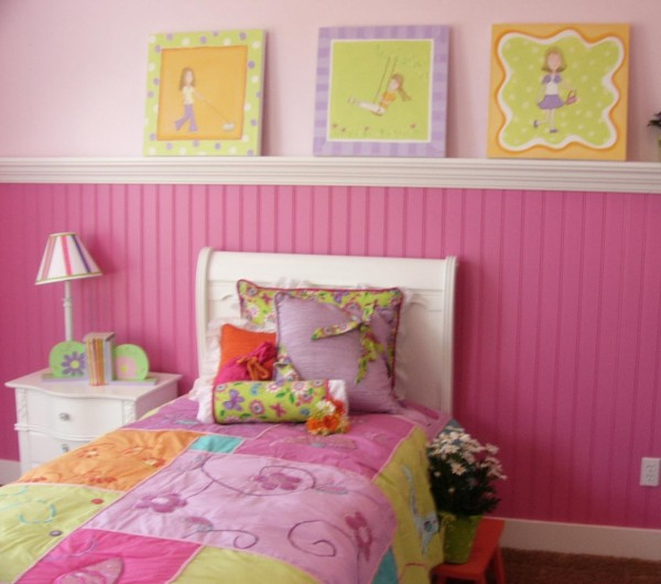 Hotpink Girl's Bedroom