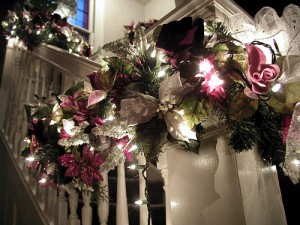 Christmas staircases