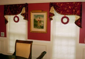 drapes for christmas