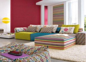 colorful living room color schemes
