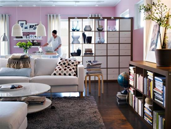 cozy+living+room+design+decoration+by+IKEA