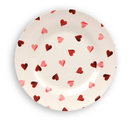 Hearts Plate