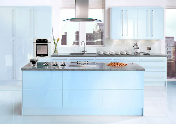 Neopolitan Blue Kitchen