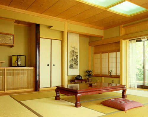 interior japanese with floor pillows : japanese-home-interiors - designwebi.com