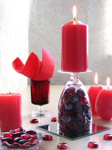 fun Valentine's Day centerpiece