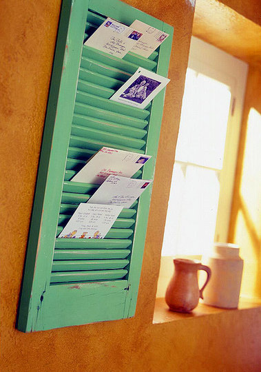 Window Shutter storage
