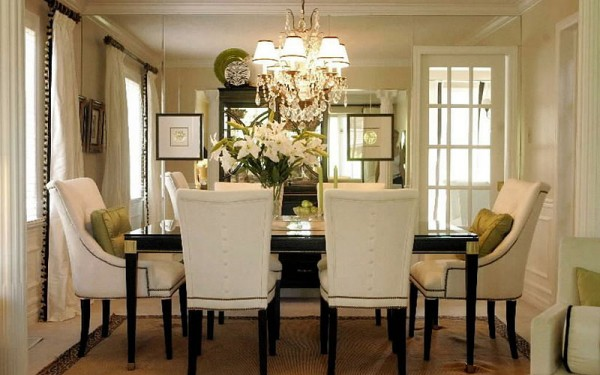 How high do I hang a chandelier over a dining table? - Yahoo! Answers