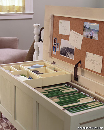 trunk as a file cabinet