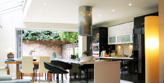 Charming House Extension In Chiswick