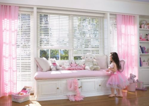 Pink Grils Bedrooms Ideas  5